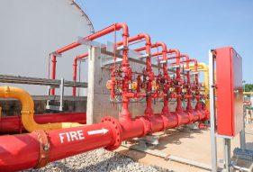 מערכות בטיחות אש במרכזים לוגיסטיים